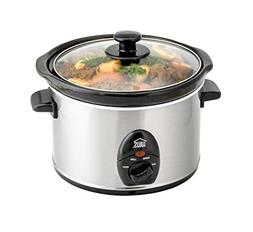 Haus by Kalorik HSC 44235 SS Programmable Slow Cooker with D