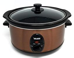 BETTER CHEF, IMPRESS, IM-456C, 3.5 LITER SLOW COOKER COPPER