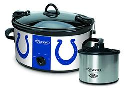 Crock-Pot Indianapolis Colts NFL Cook & Carry Slow Cooker wi