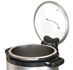 "Instant Pot 9"" Glass Lid with Lid Holder Attachment - Design"