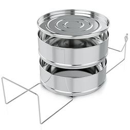 Instant Pot Accessories – Stackable Stainless Steel Pressu