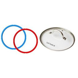 Instant Pot Tempered Glass lid – 9 in.  - 6 Quart & Instan