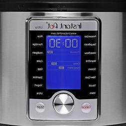 Instant Pot Ultra 6 Qt 10-in-1 Multi- Use Programmable Press