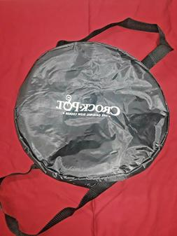Crock Pot Insulated Carrier Travel Bag Case for Oval Stonewa
