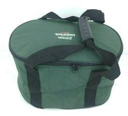 Insulated Crock-Pot Bag 4-7 Quart Oval-Shaped Slow Cooker Gr