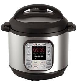 Instant Pot IP-DUO80 7-in-1 Programmable Pressure Cooker, 8Q