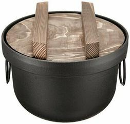 Japanese Rice Cooker Iron Pot TETSUGAMA japan import populer