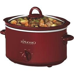 Crock-pot Jarden Consumer Solutions Red 4Qt Oval Slow Cooker