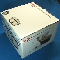 K007M JCP Cooks 6 Quart Stainless Steel Slow Cooker Removabl