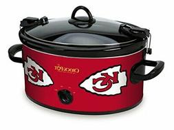 Crock-Pot Kansas City Chiefs NFL Cook & Carry Slow Cooker -