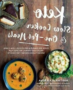 Keto Slow Cooker and One-Pot Meals : 100 Simple and Deliciou