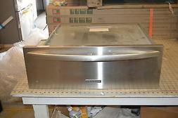 "KitchenAid KEWS105BSS 30"" Stainless Warming Drawer 1.9 Cu.Ft"