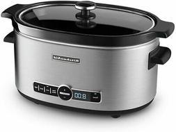 Kitchen Kitchenaid Ksc6223ss 6-Qt. Slow Cooker With Standard