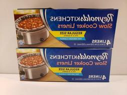 Reynolds Kitchen Slow Cooker Liners 3-8 Quarts Two Packs Of