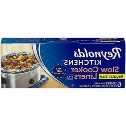 6 Reynolds Kitchens Premium Slow Cooker Liners – Easy Clea