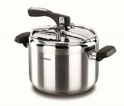 Korkmaz Turbo Stainless Steel Pressure Cooker Silver, Manual