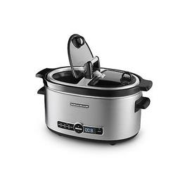 KitchenAid KSC6222SS Slow Cooker with Easy Serve Glass Lid,