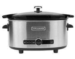 KitchenAid KSC6223SS 6-Qt. Slow Cooker with Standard Lid - S