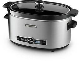 KitchenAid KSC6223SS 6Qt. Slow Cooker with Standard Lid  Sta