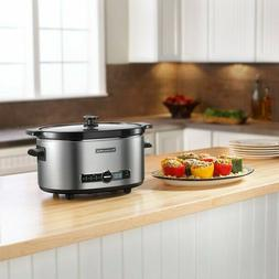 KitchenAid KSC6223SS Stainless Steel 6 Qt. Slow Cooker with