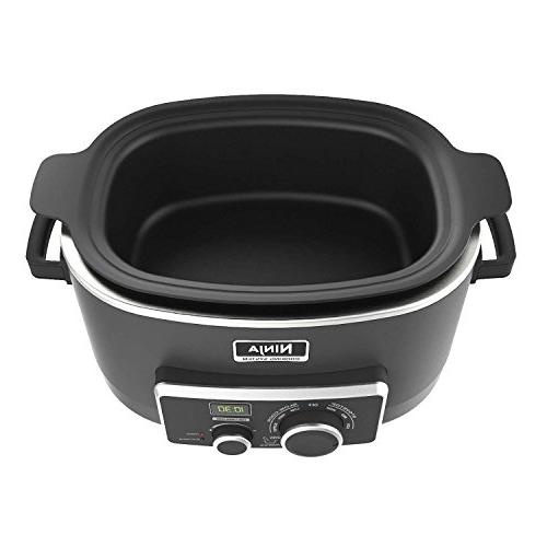 Ninja 3-in-1 Slow Cooker with Emeril Stainless Kitchen