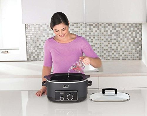 Ninja 3-in-1 Cooking Slow Cooker with Emeril Stainless Steel