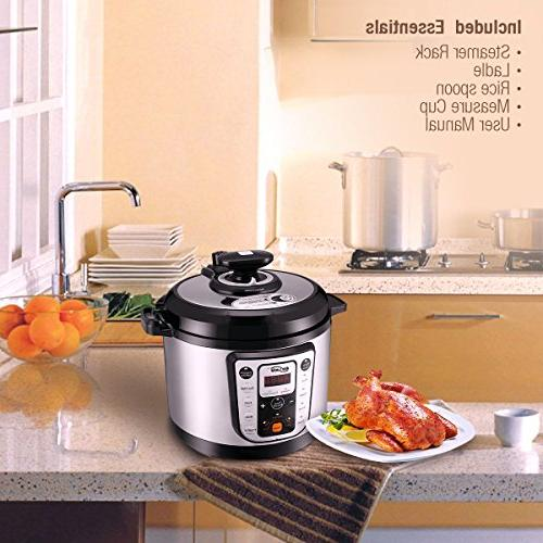 Housmile Multi-Use Cooker Bean, 1000 Watts