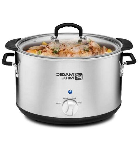 10qt Crock Pot Slow 9quart 9 Huge XL