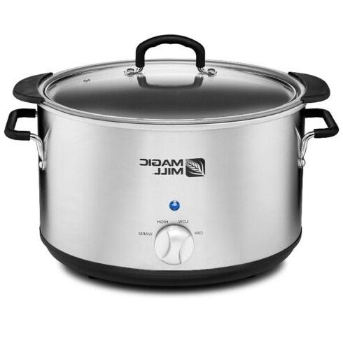 10qt Crock Slow Cooker 9quart Huge
