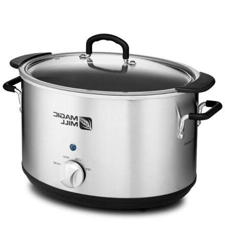 10qt Pot Slow Cooker Big 10quart 9quart Huge XL qt