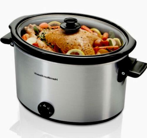 10qt crock pot 9qt slow cooker big