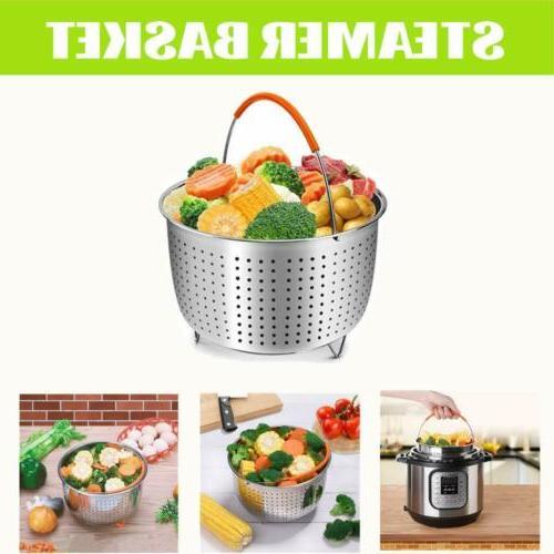 12 pieces Accessories Fits qt Quart Cooker W/Steamer Basket