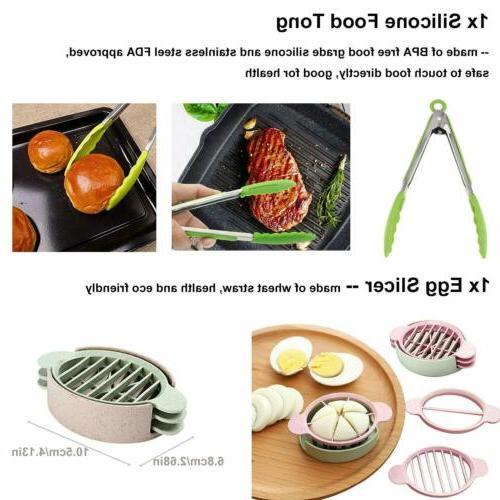 12 pieces Accessories Set Fits qt 8 Quart Cooker W/Steamer Basket
