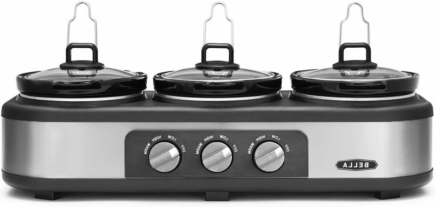 14484 triple slow cooker