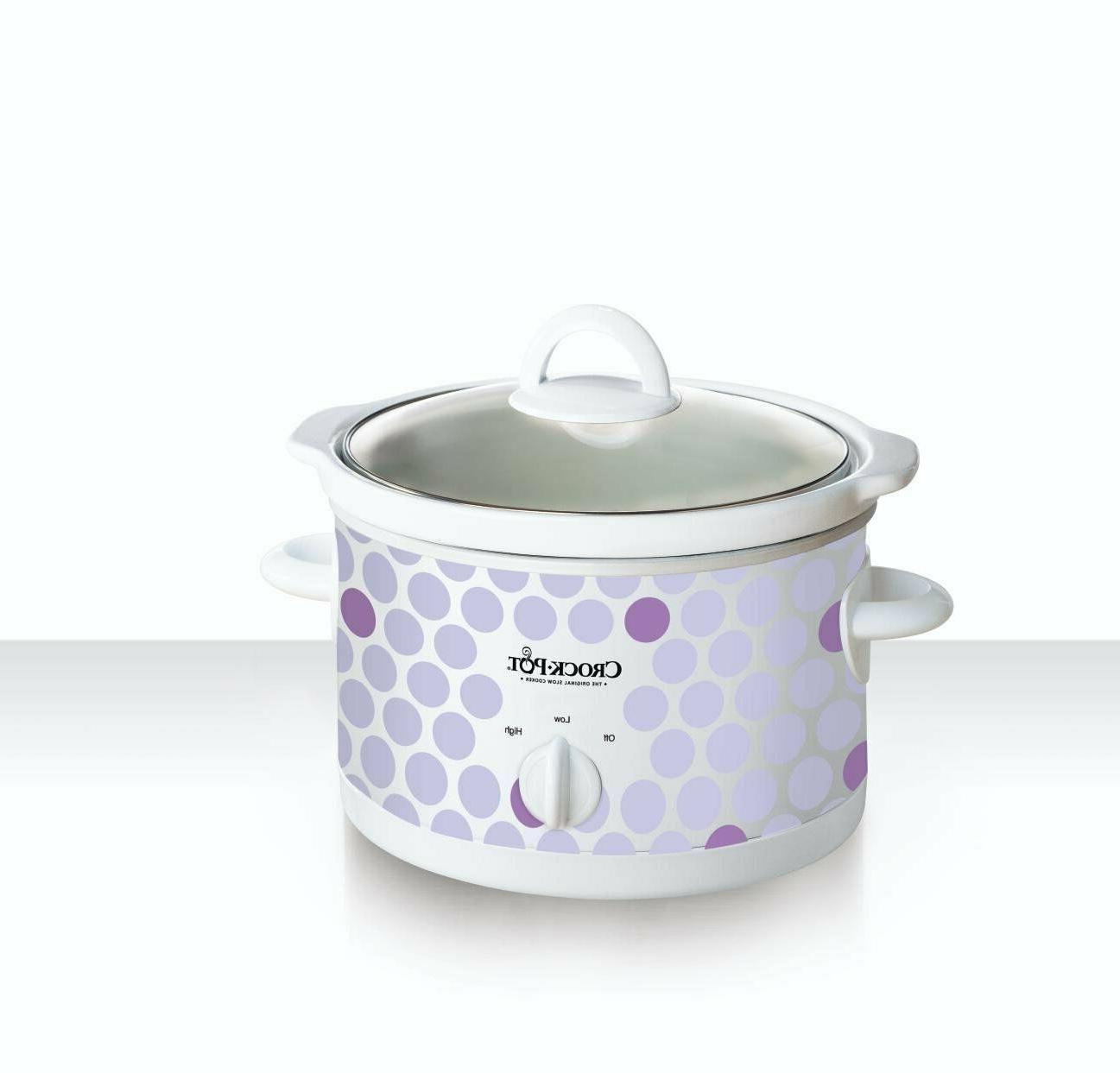 Crock Pot Slow 2-1/2 Dishwasher Glass Cooker