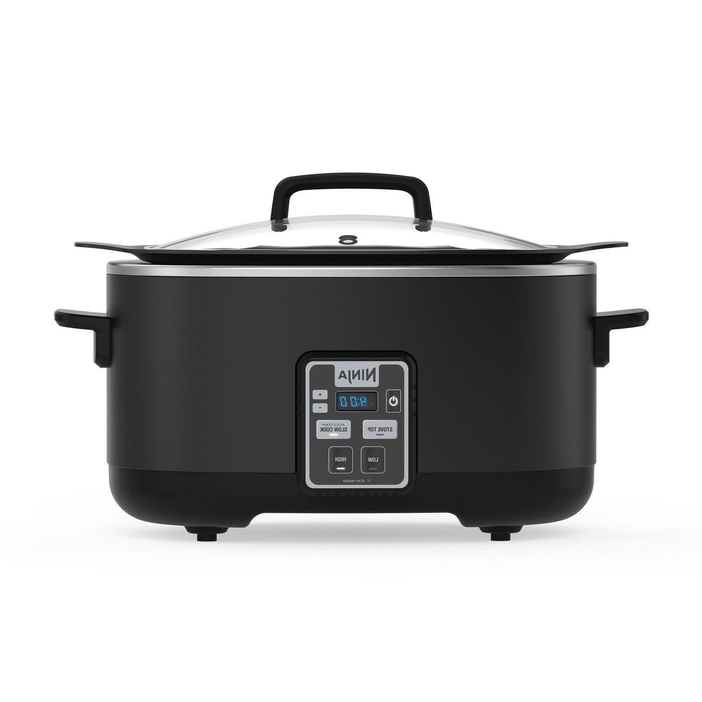 2 in 1 slow cooker 6 qt