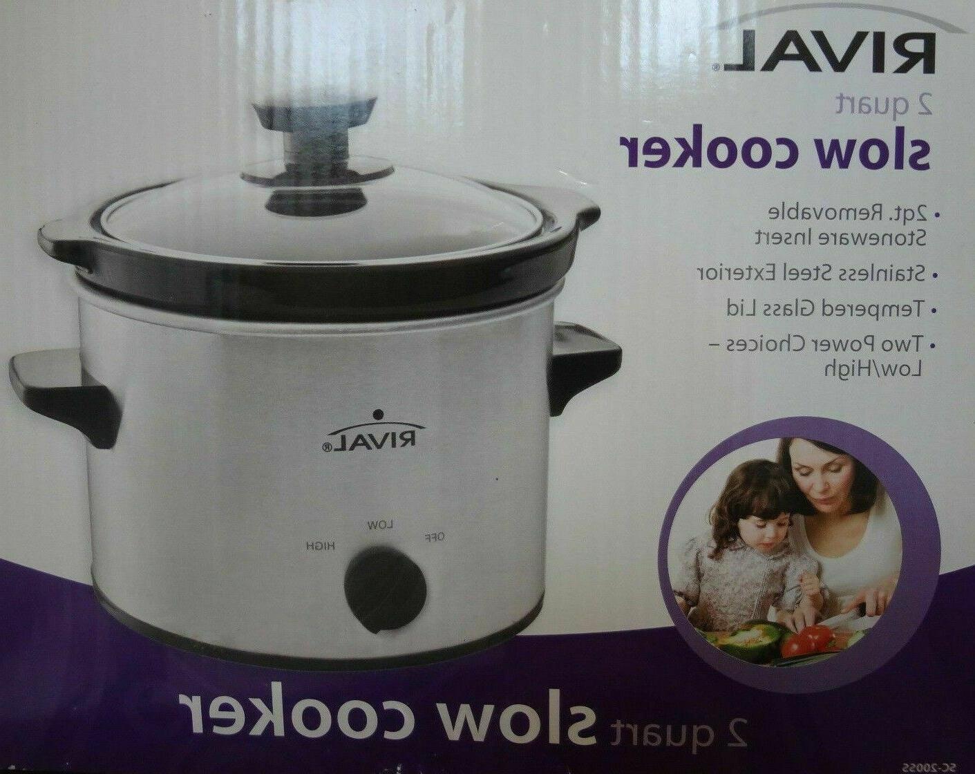 2 quart slow cooker