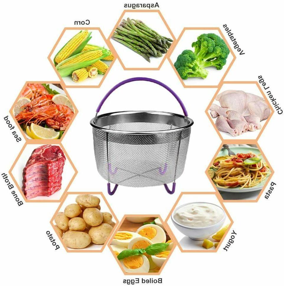 22 Pcs Cooker Accessories Set Compatible Instant