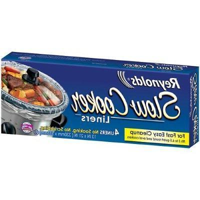 3 6 5 qt slow cooker liners