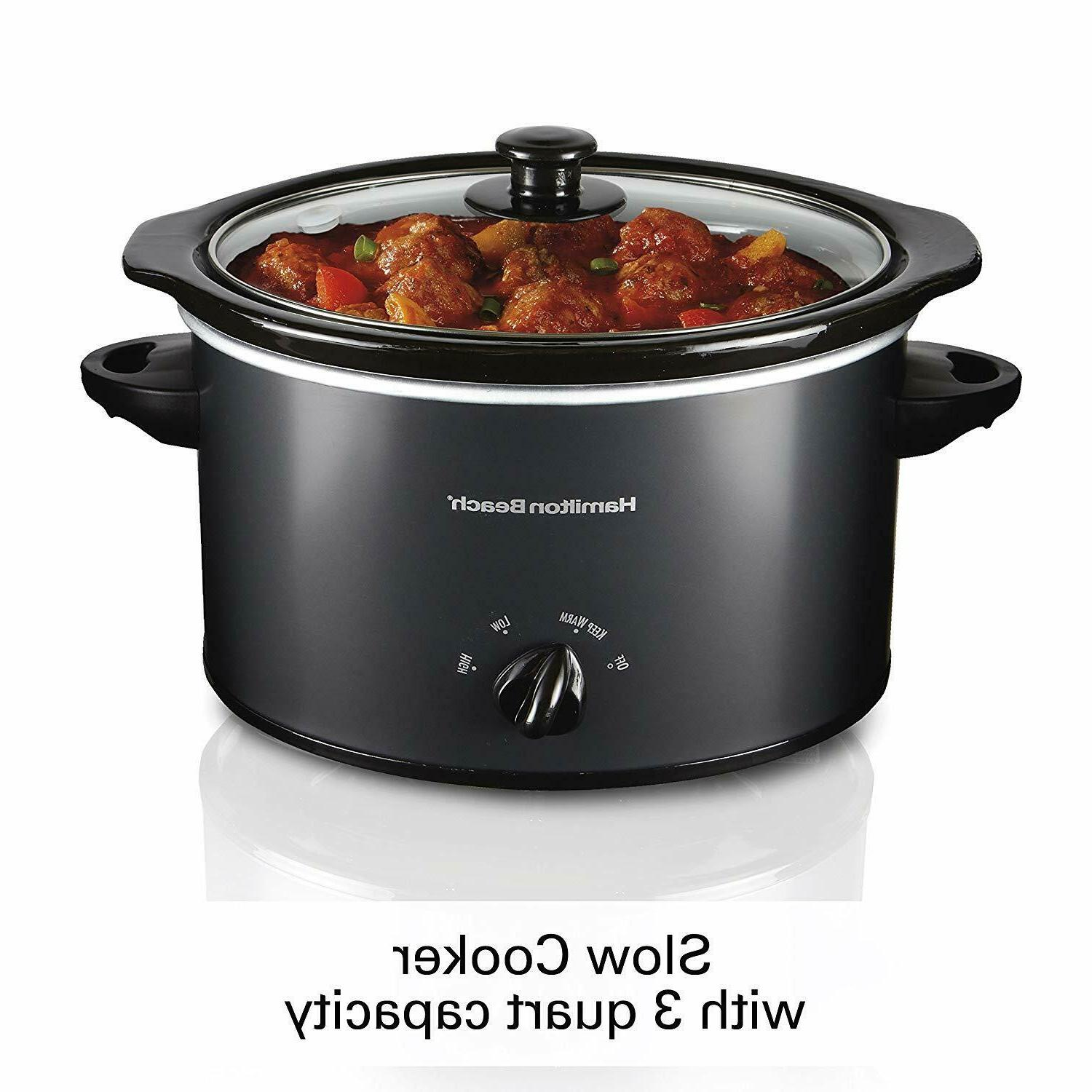 3 Qt Programmable Slow Cooker Safe and Home