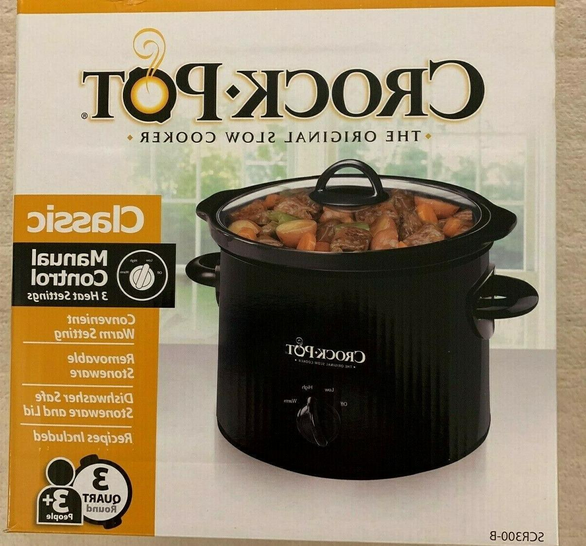 Crock-Pot Cooker, SCR300-B