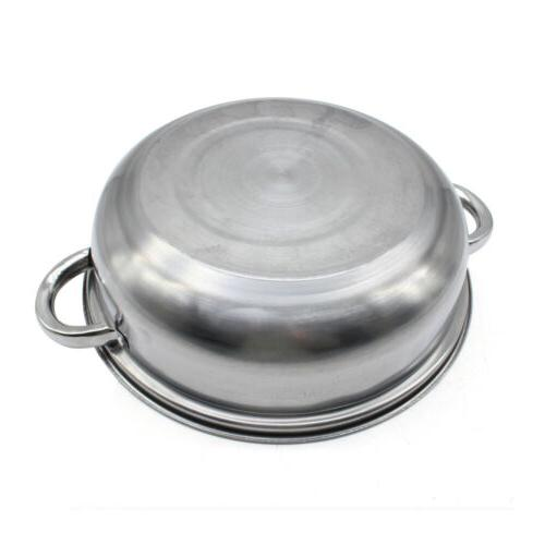 3tier pot Kitchen cookware 28cm Pot