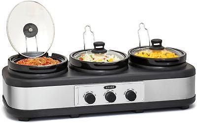 Bella 3 2.5-Quart Triple Cooker -