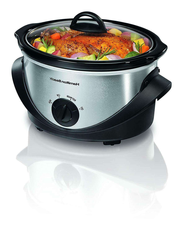 33141 4 quart oval slow cooker
