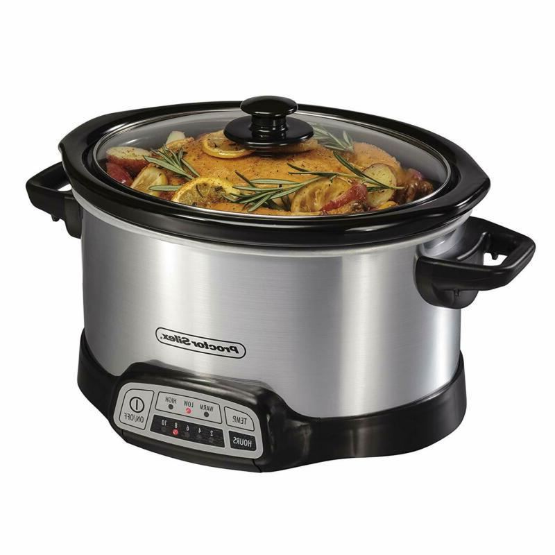 33442 slow cooker silver