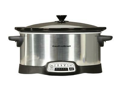 Hamilton 33473 7 Qt. Programmable Cooker