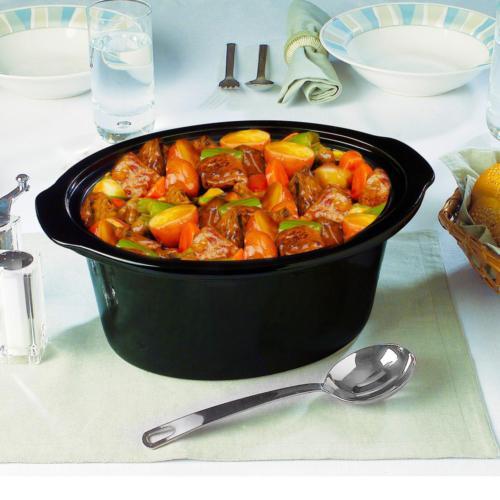 4.5 qt. cooker and warm setting  