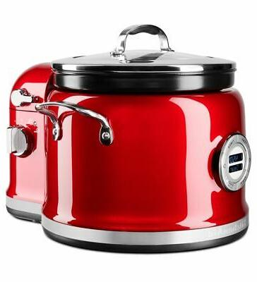 4 quart multi cooker with stir tower