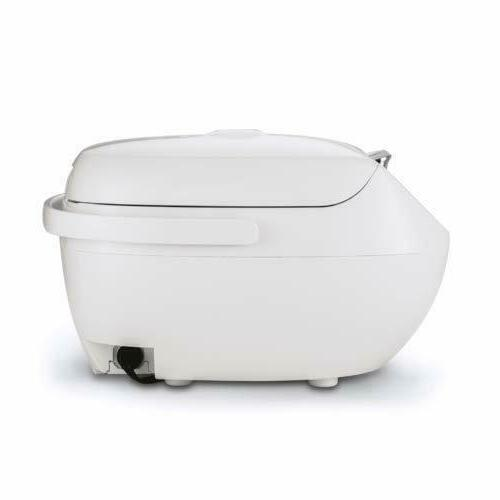 Tiger 5.5-Cup Rice Cooker with Steamer and Slow