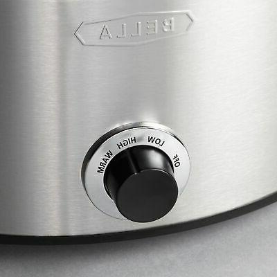 Bella 5-qt. Cooker Stainless